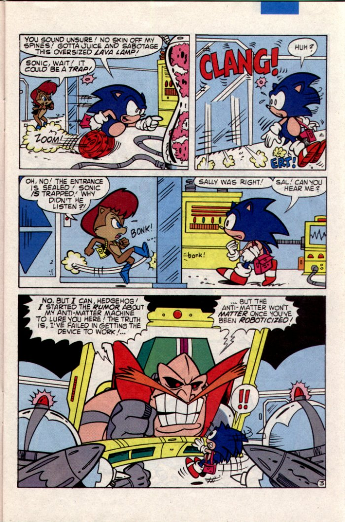 Sonic - Archie Adventure Series March 1995 Page 3
