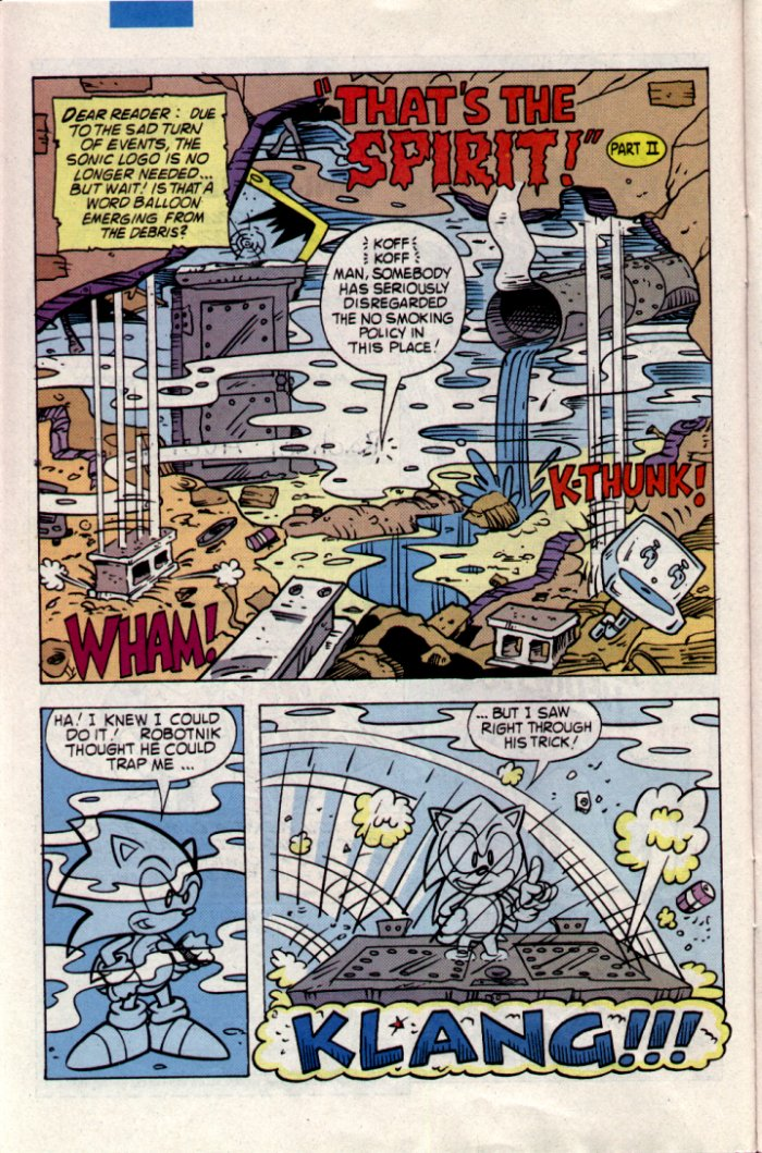 Sonic - Archie Adventure Series March 1995 Page 6