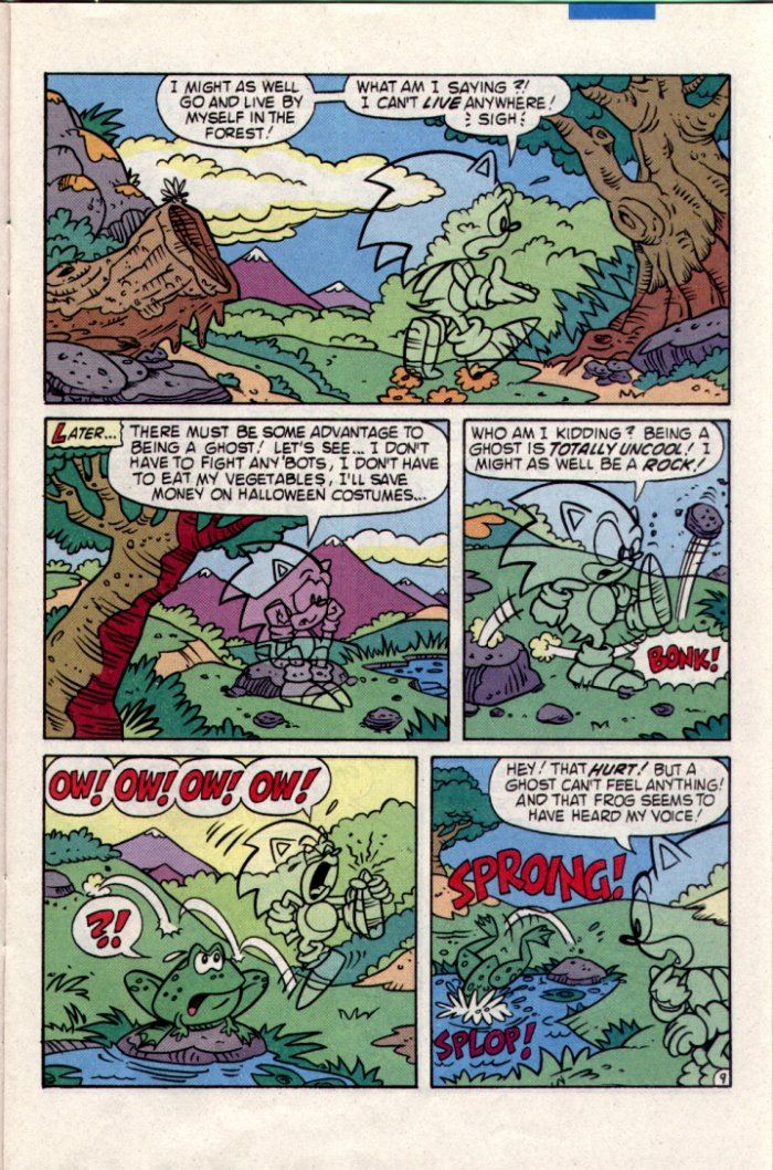 Sonic - Archie Adventure Series March 1995 Page 9