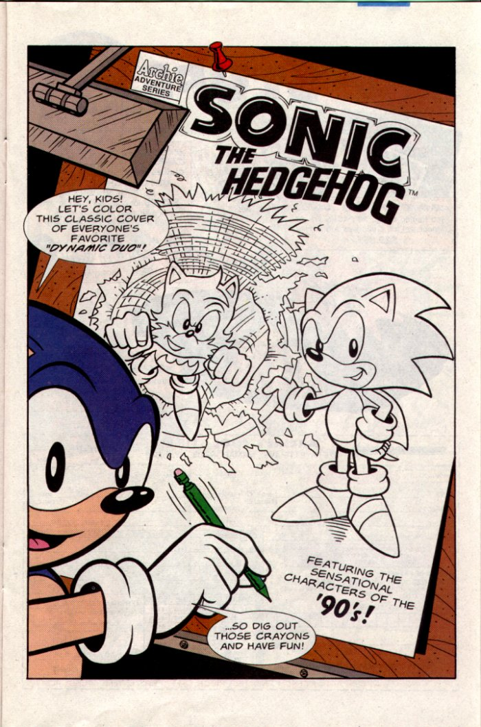 Sonic - Archie Adventure Series March 1995 Page 11