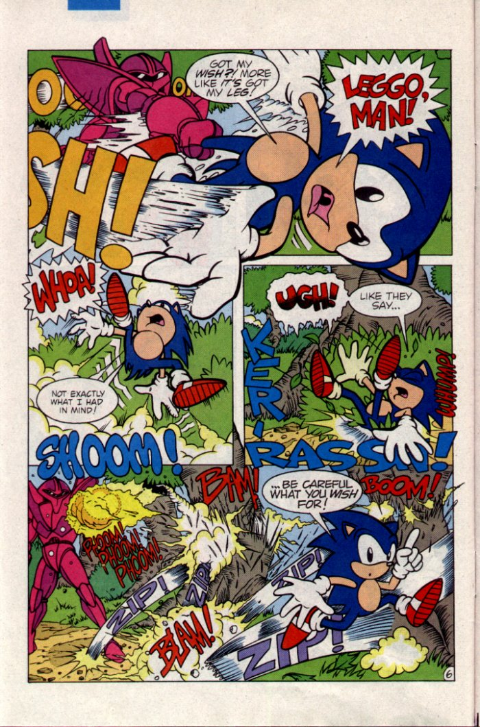 Sonic - Archie Adventure Series April 1995 Page 6