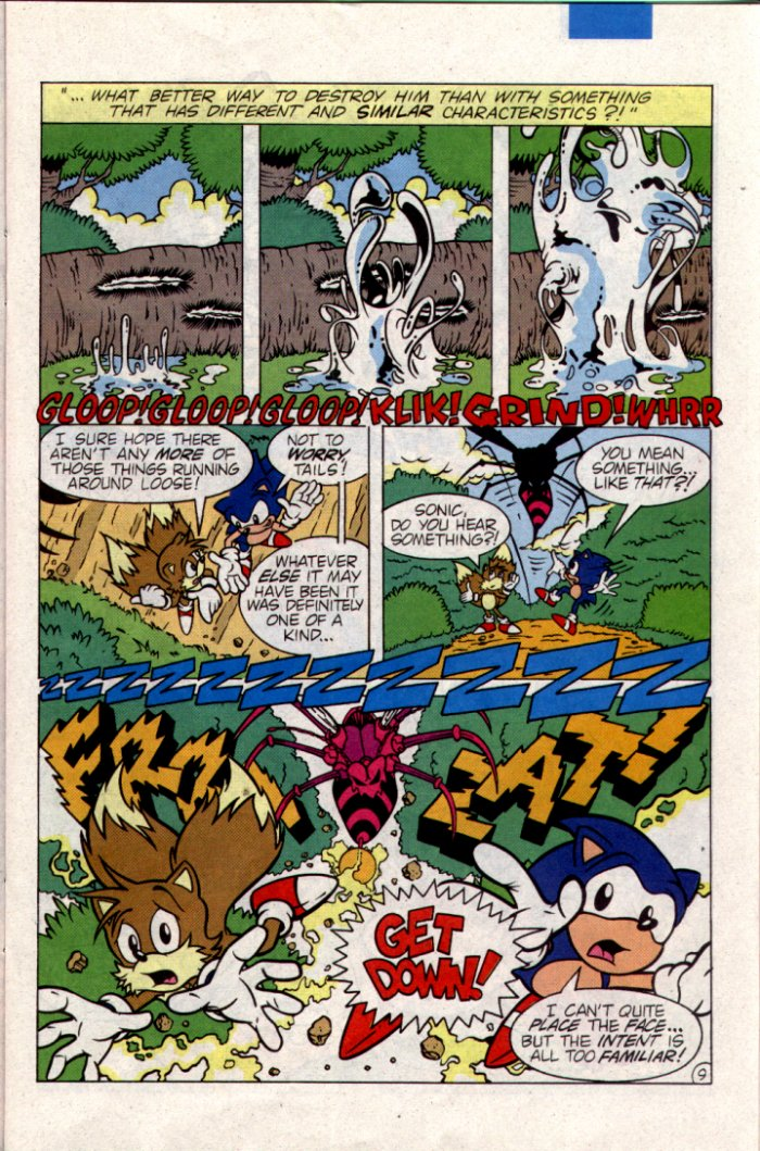 Sonic - Archie Adventure Series April 1995 Page 9