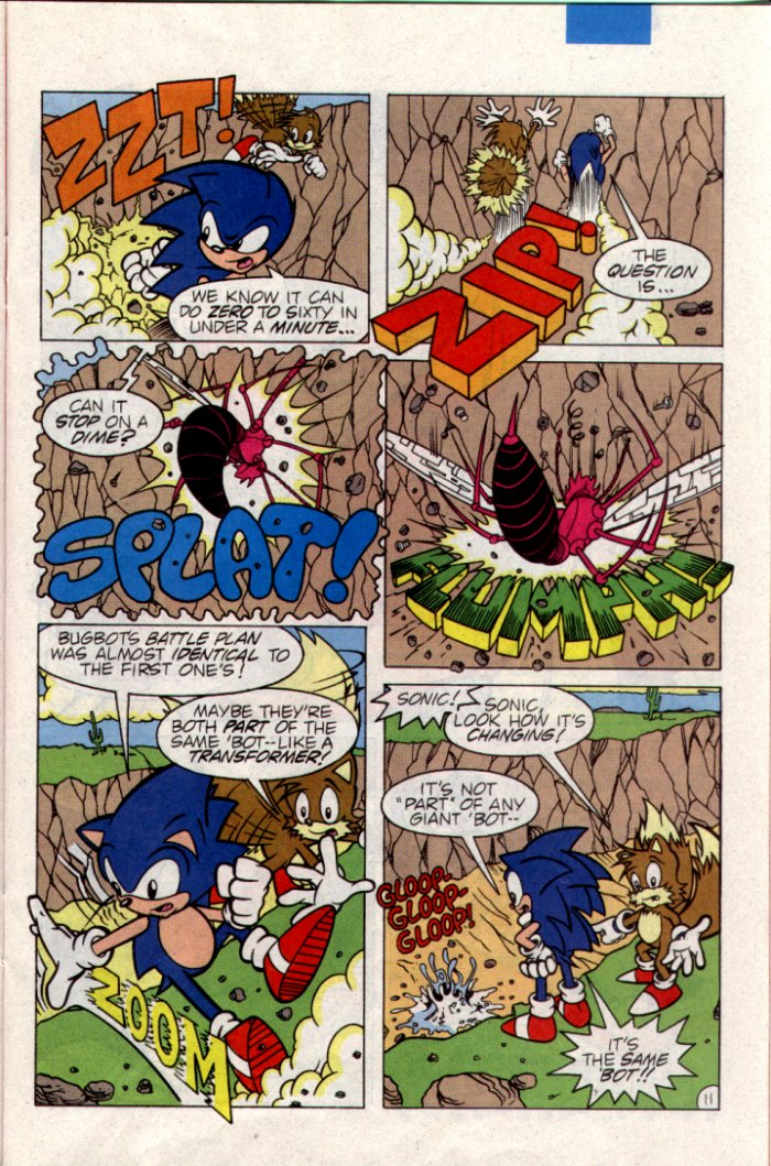Sonic - Archie Adventure Series April 1995 Page 11