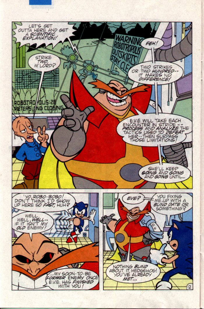 Sonic - Archie Adventure Series April 1995 Page 12