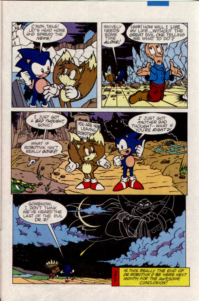 Sonic - Archie Adventure Series April 1995 Page 23