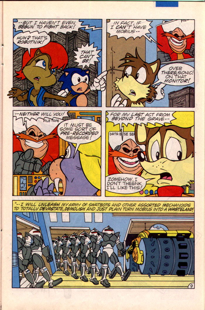 Sonic - Archie Adventure Series May 1995 Page 9