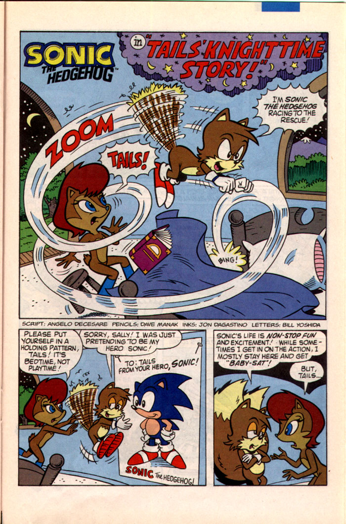 Sonic - Archie Adventure Series May 1995 Page 19