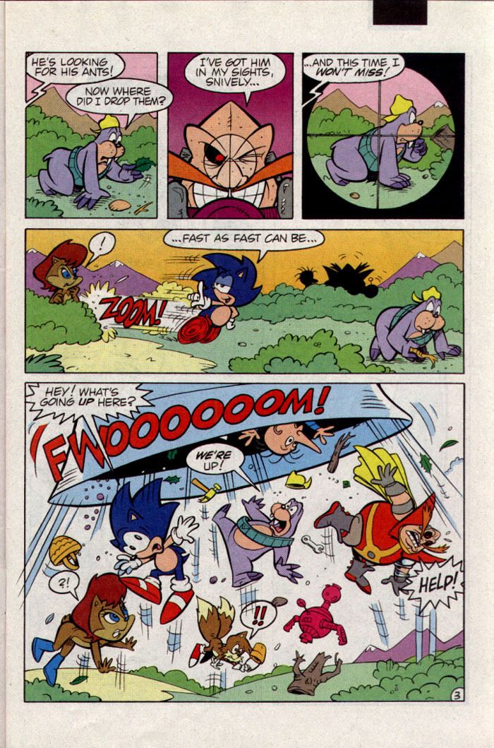 Sonic - Archie Adventure Series June 1995 Page 3