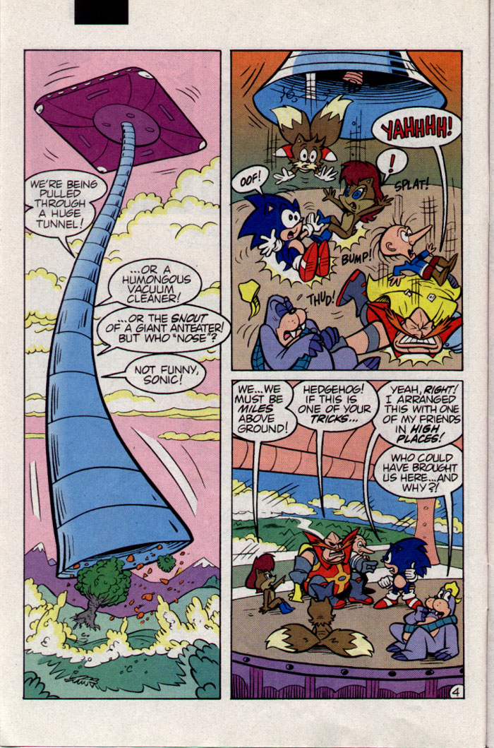 Sonic - Archie Adventure Series June 1995 Page 4