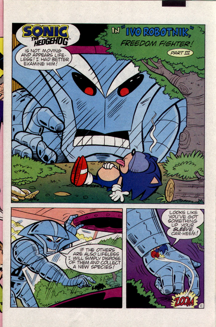 Sonic - Archie Adventure Series June 1995 Page 11