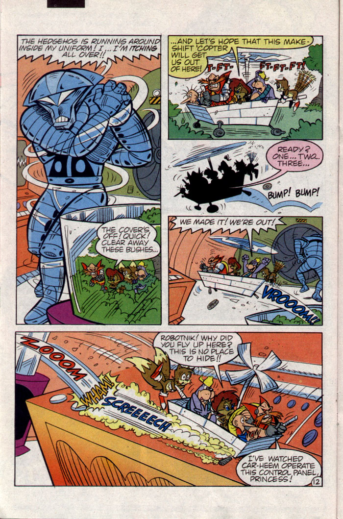 Sonic - Archie Adventure Series June 1995 Page 12