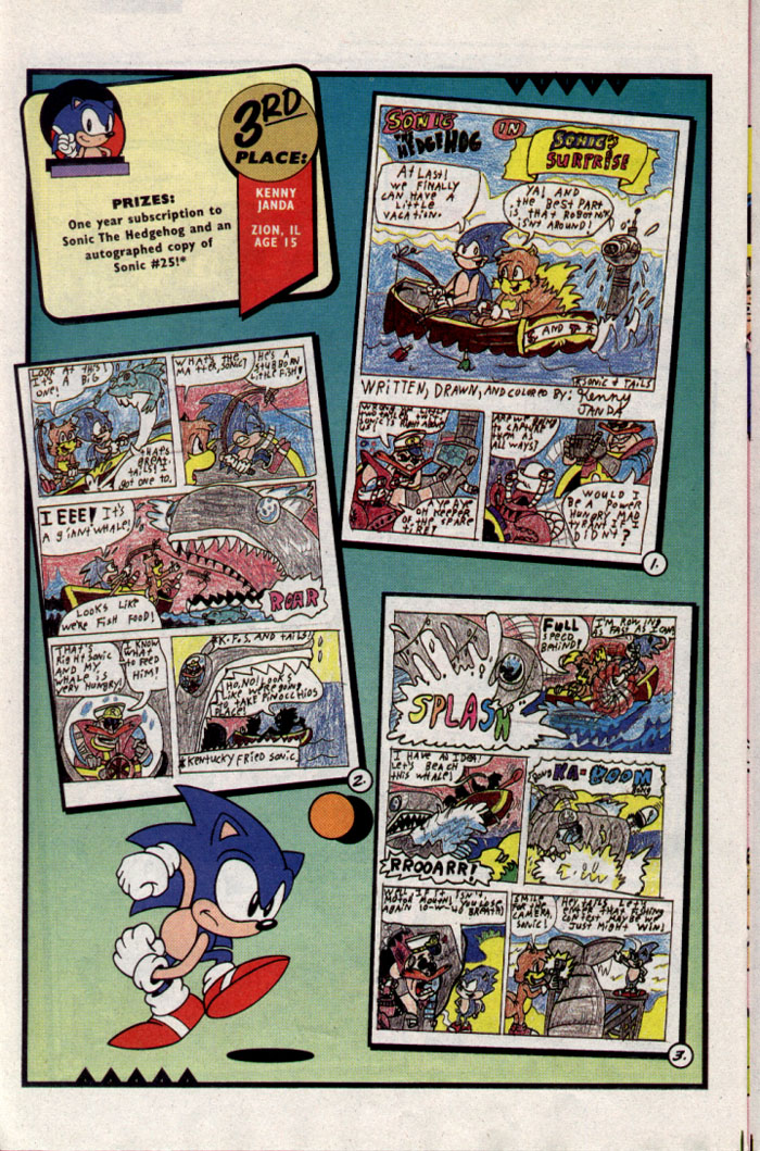 Sonic - Archie Adventure Series June 1995 Page 18