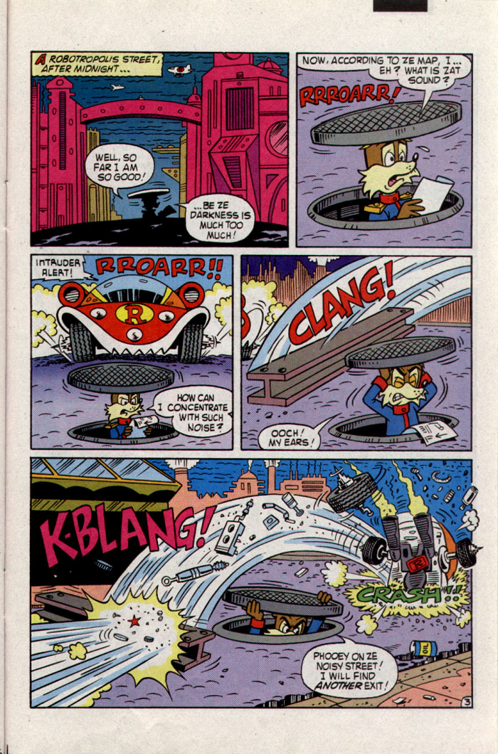 Sonic - Archie Adventure Series June 1995 Page 21
