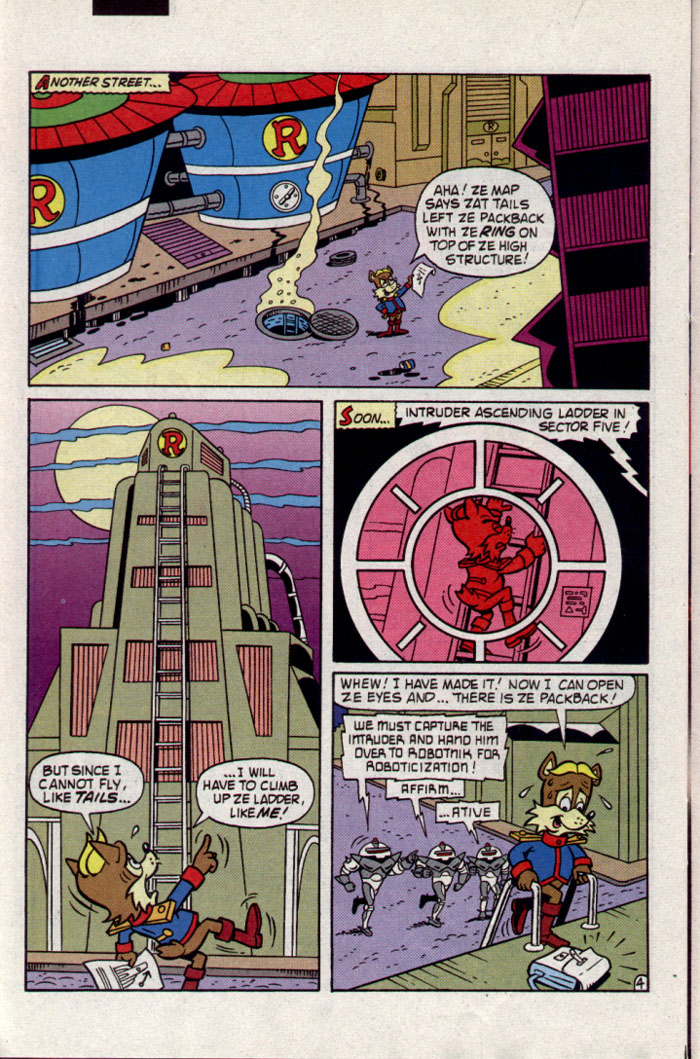 Sonic - Archie Adventure Series June 1995 Page 22