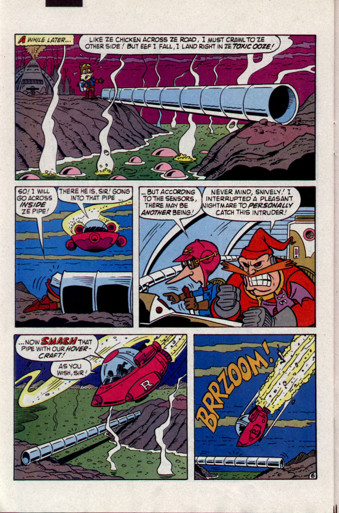 Sonic - Archie Adventure Series June 1995 Page 24