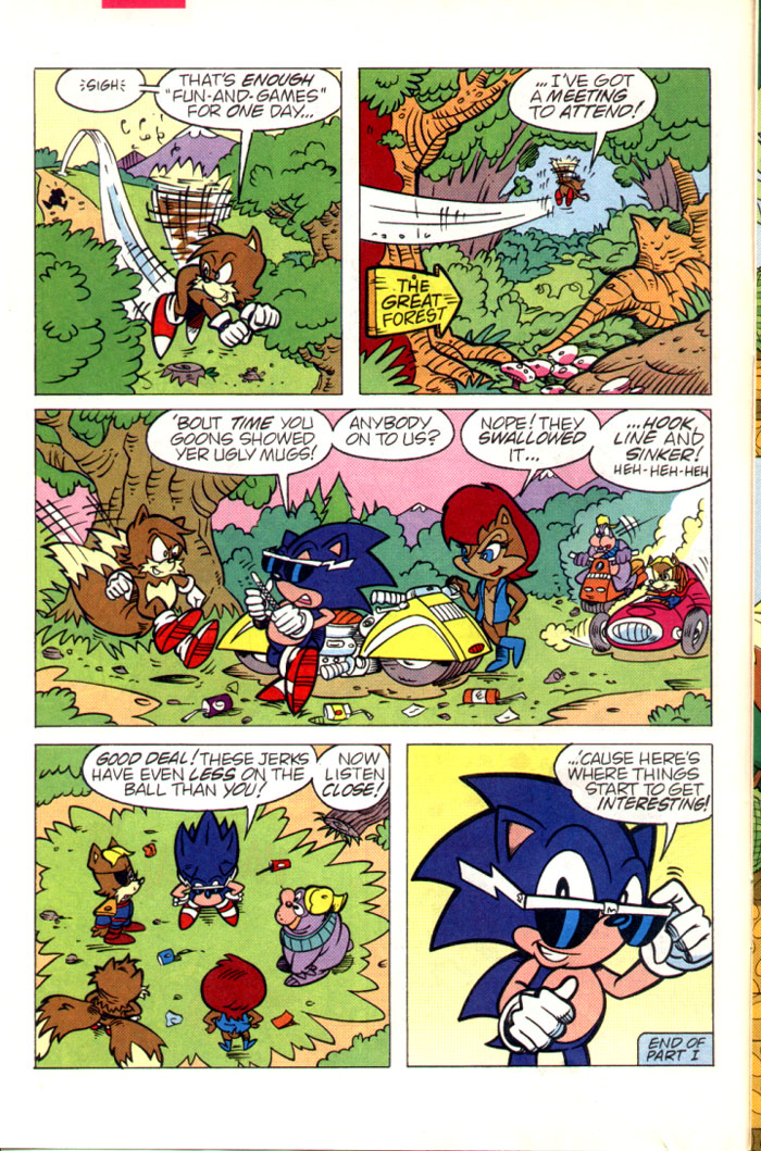 Sonic - Archie Adventure Series July 1995 Page 6