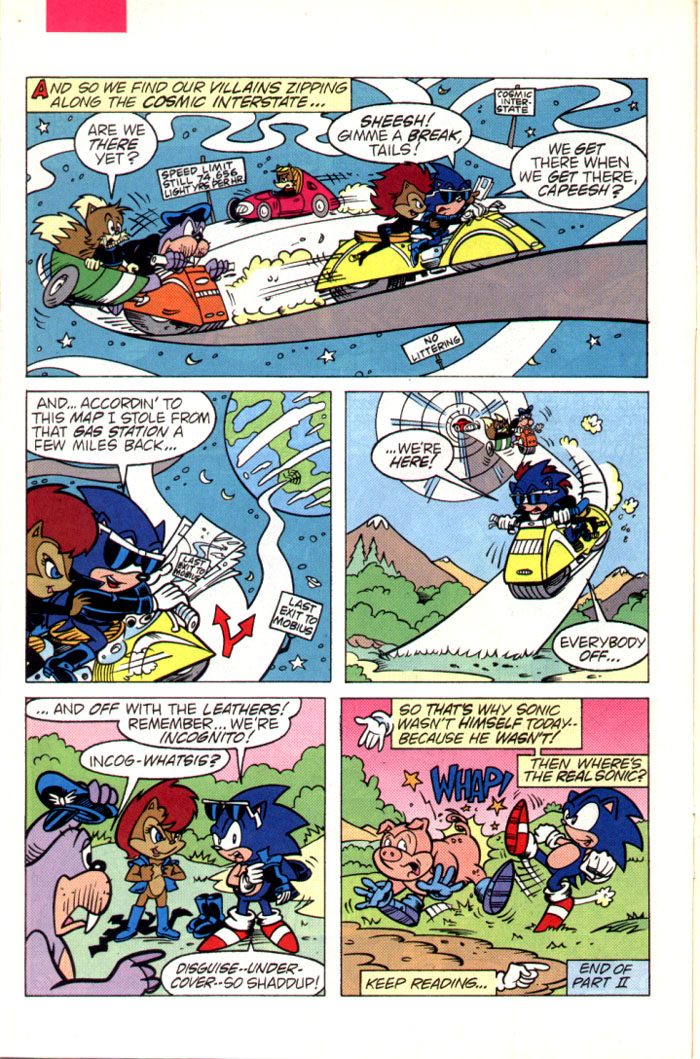 Sonic - Archie Adventure Series July 1995 Page 11