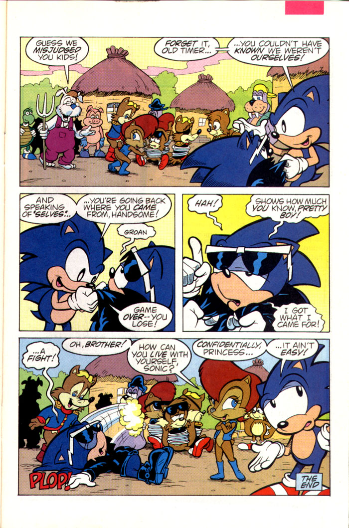 Sonic - Archie Adventure Series July 1995 Page 25
