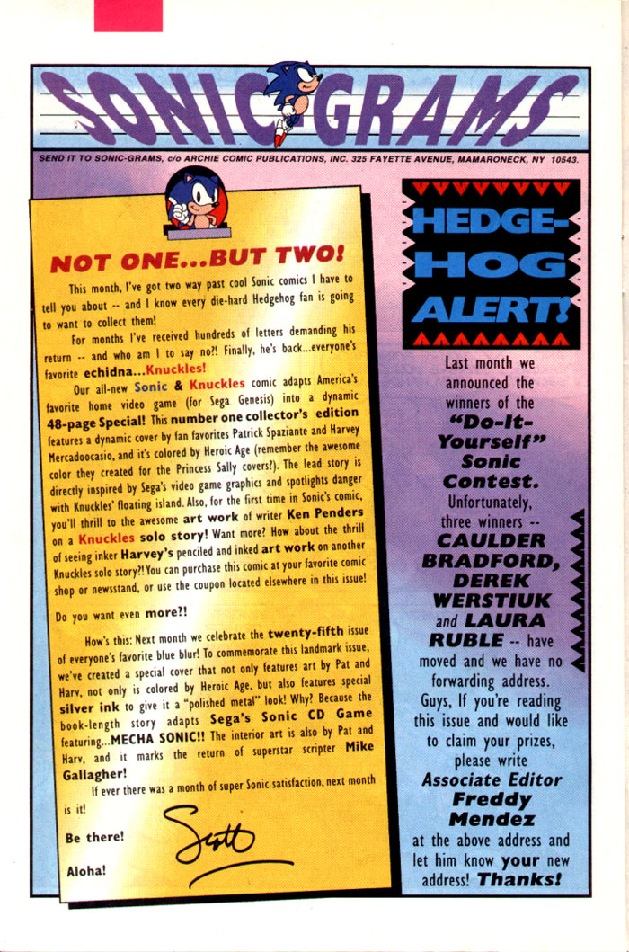Sonic - Archie Adventure Series July 1995 Page 26
