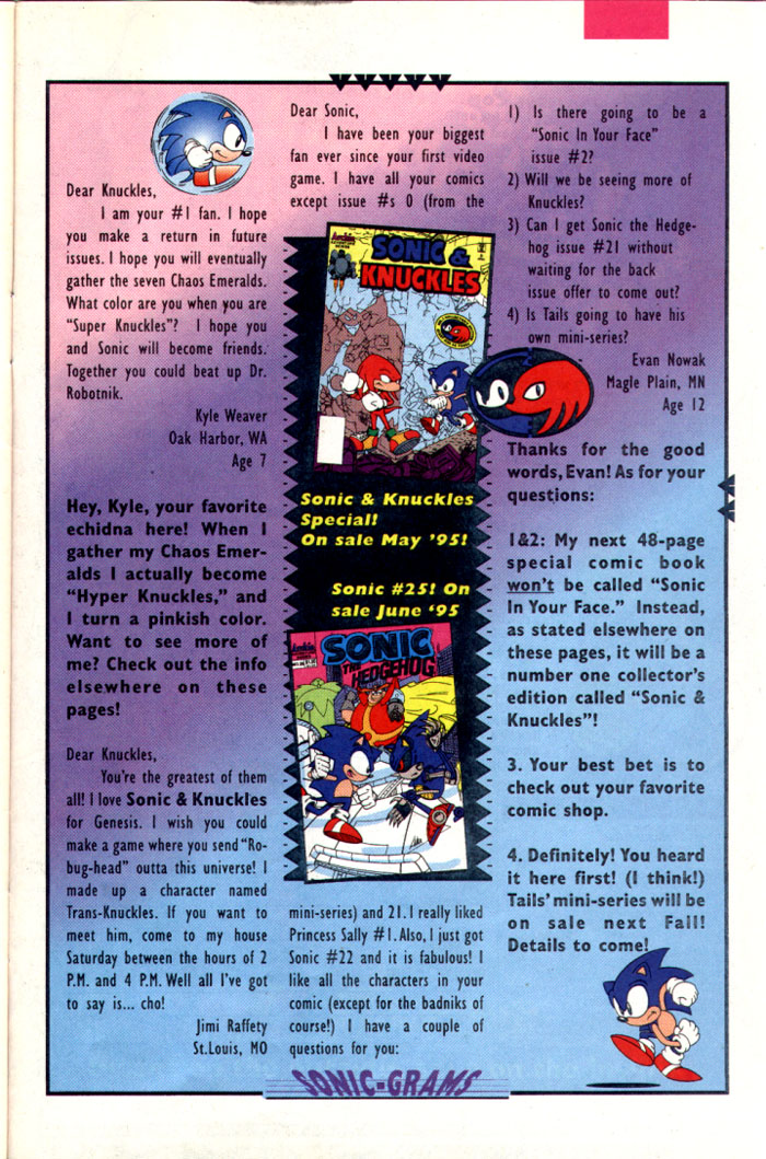Sonic - Archie Adventure Series July 1995 Page 27
