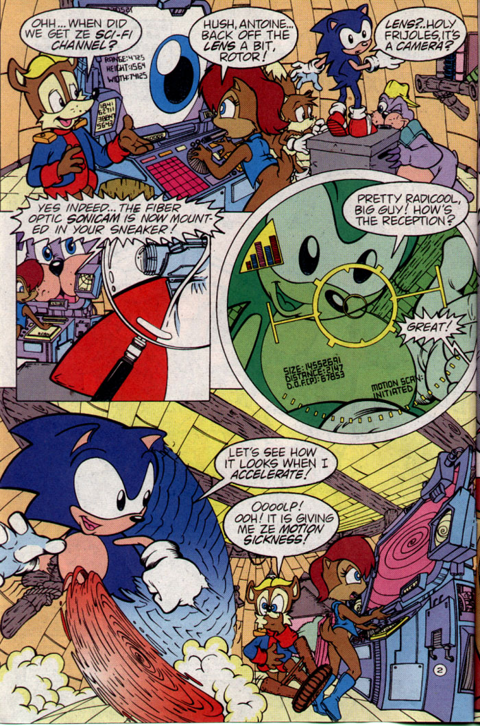 Sonic - Archie Adventure Series August 1995 Page 2