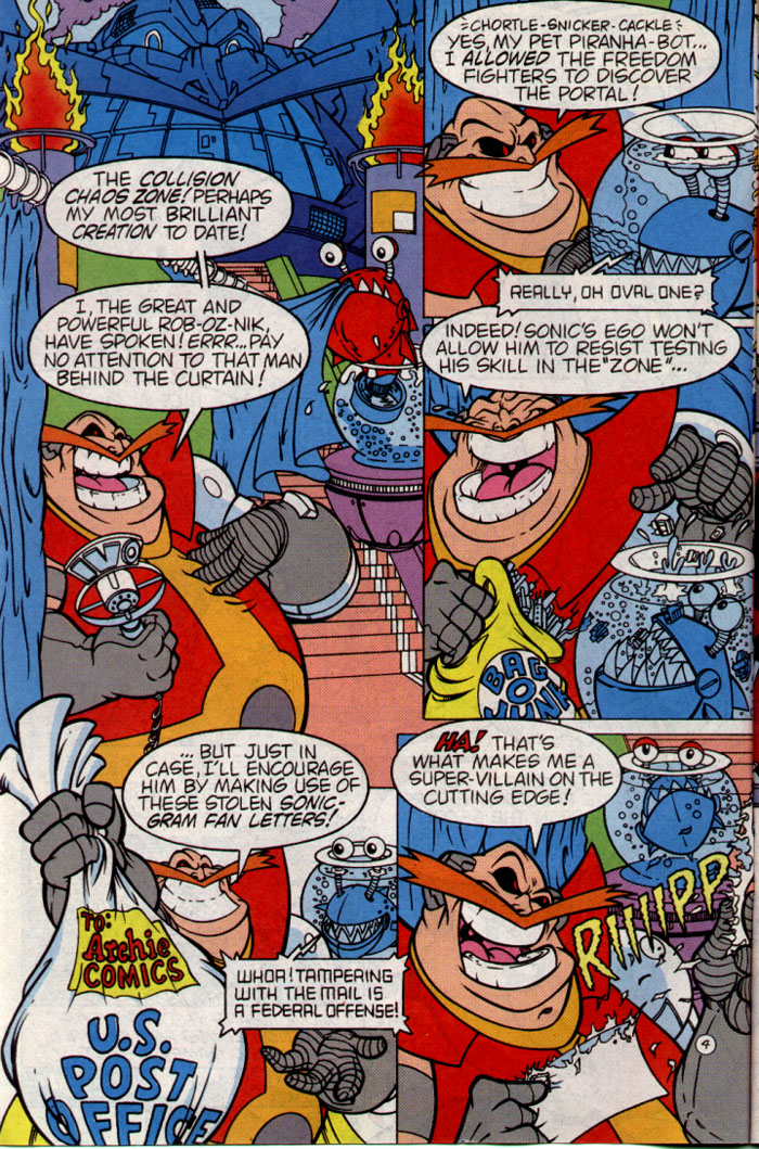Sonic - Archie Adventure Series August 1995 Page 4