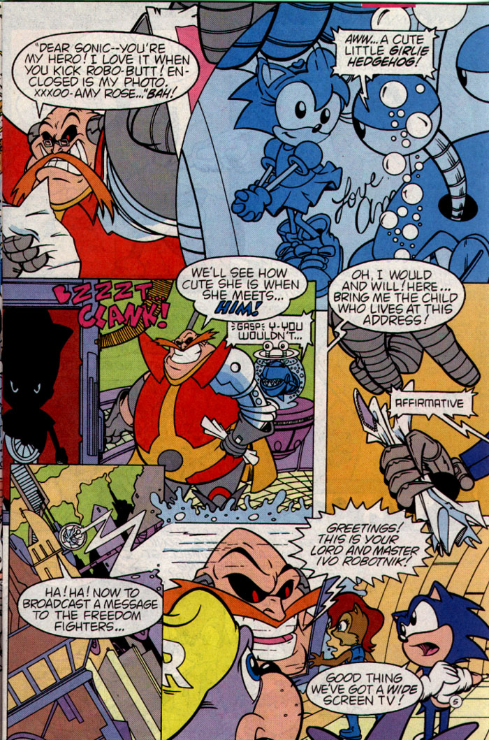 Sonic - Archie Adventure Series August 1995 Page 5