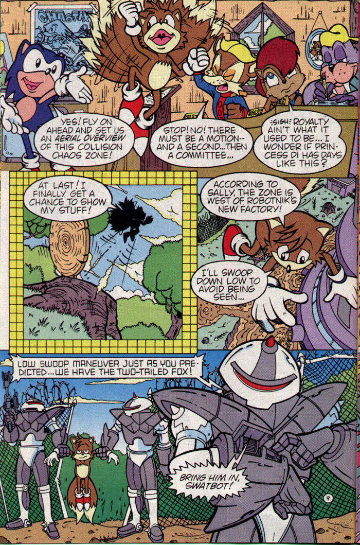 Sonic - Archie Adventure Series August 1995 Page 9