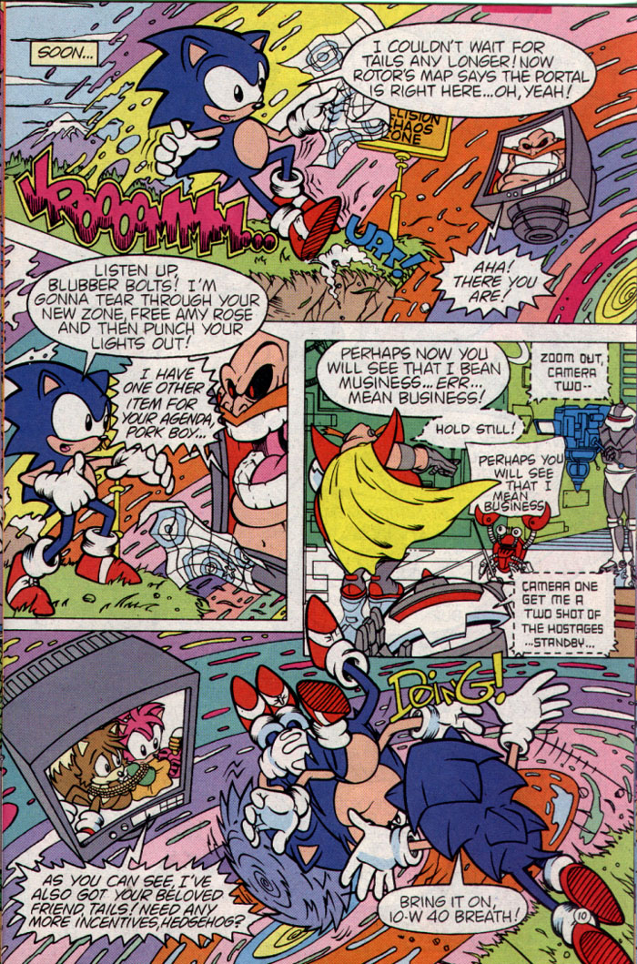 Sonic - Archie Adventure Series August 1995 Page 10