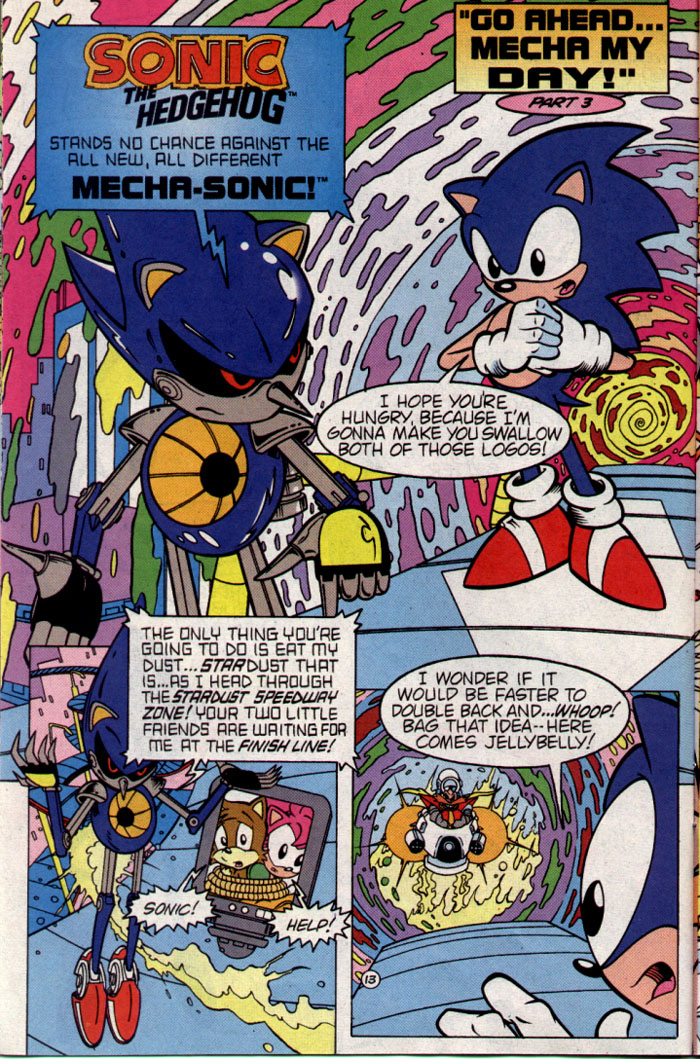 Sonic - Archie Adventure Series August 1995 Page 13