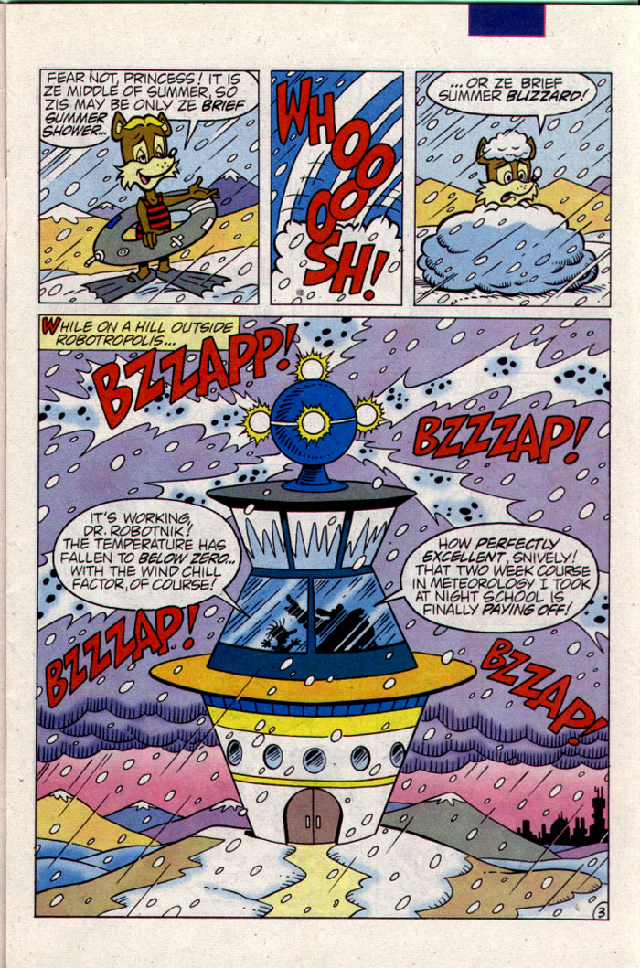 Sonic - Archie Adventure Series September 1995 Page 3