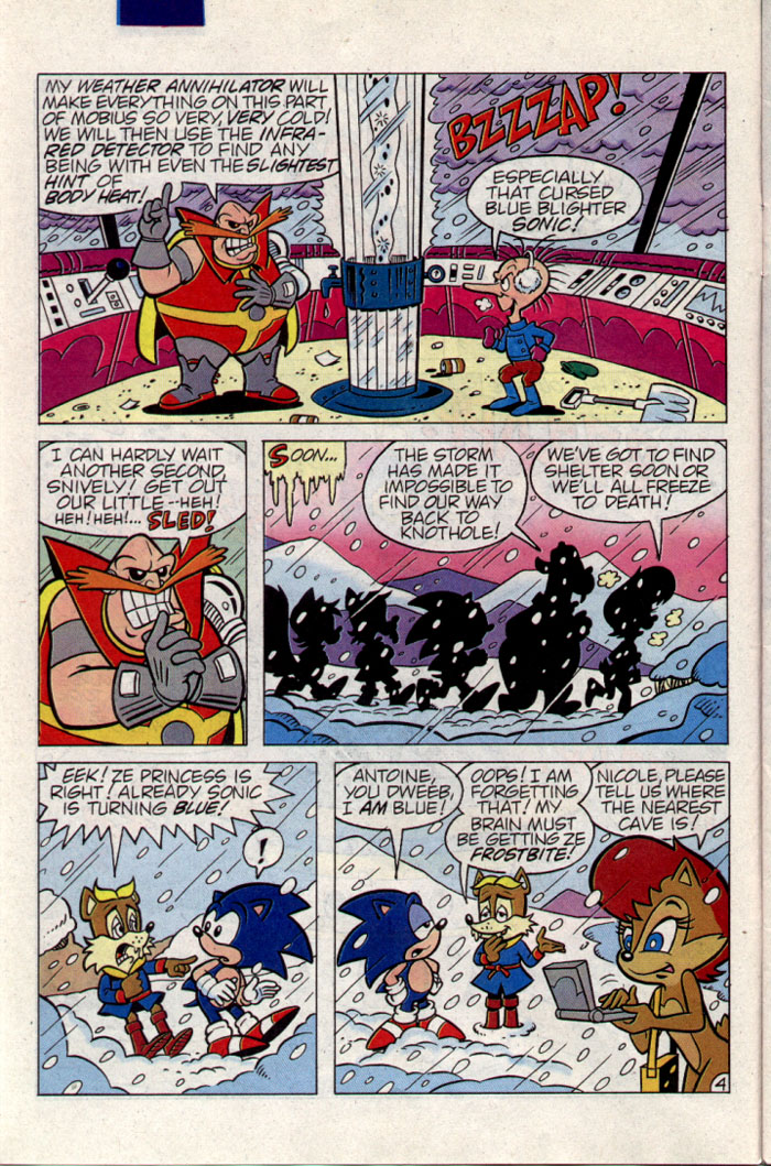 Sonic - Archie Adventure Series September 1995 Page 4
