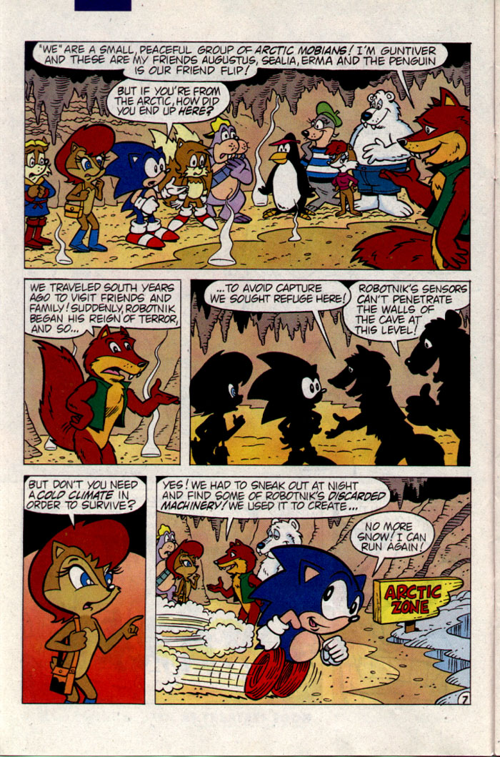 Sonic - Archie Adventure Series September 1995 Page 7