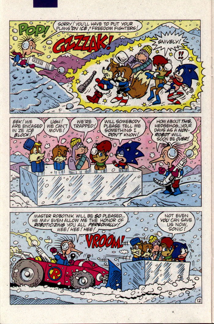 Sonic - Archie Adventure Series September 1995 Page 12