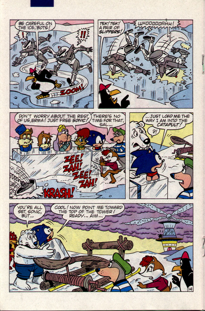 Sonic - Archie Adventure Series September 1995 Page 14