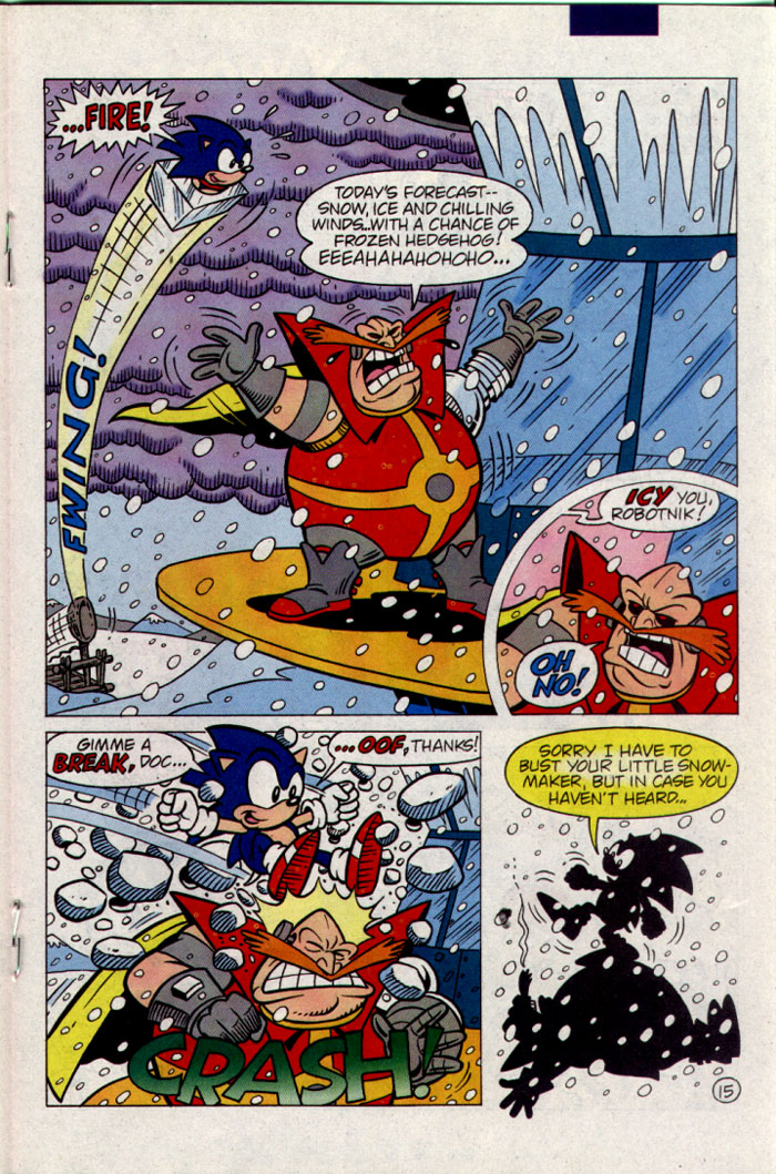 Sonic - Archie Adventure Series September 1995 Page 15