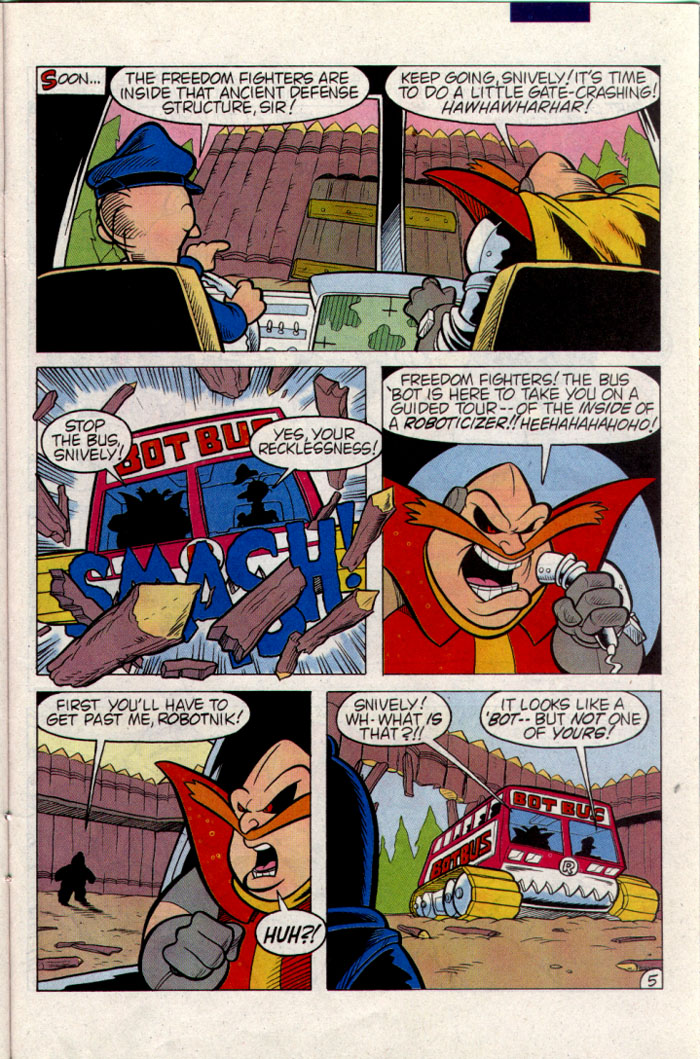 Sonic - Archie Adventure Series September 1995 Page 22
