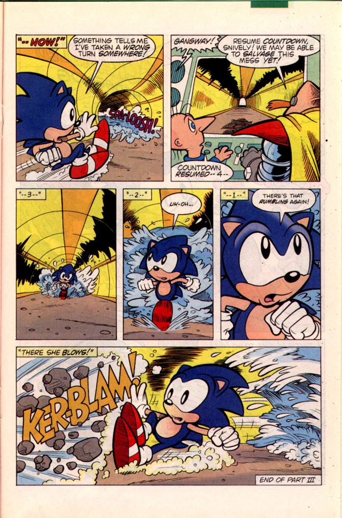Sonic - Archie Adventure Series October 1995 Page 16