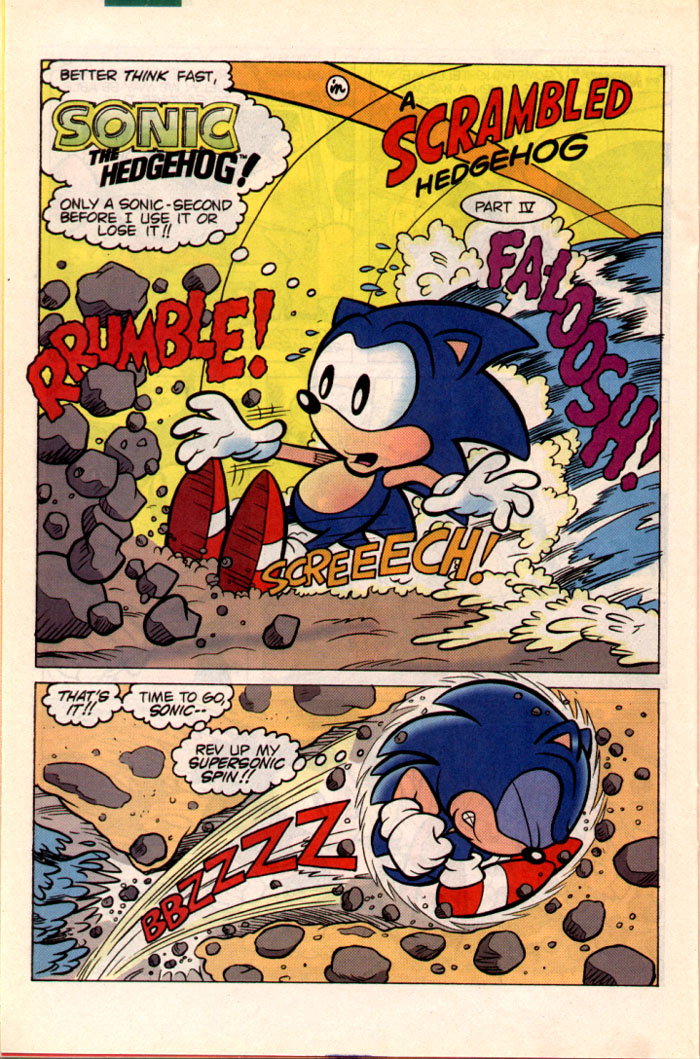 Sonic - Archie Adventure Series October 1995 Page 17