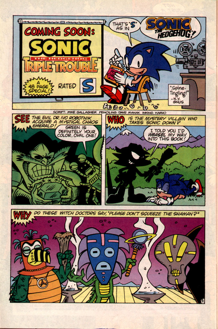 Sonic - Archie Adventure Series October 1995 Page 24