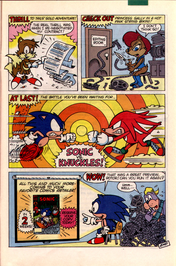 Sonic - Archie Adventure Series October 1995 Page 25