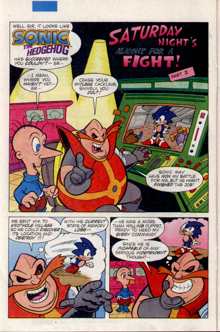 Sonic - Archie Adventure Series November 1995 Page 7