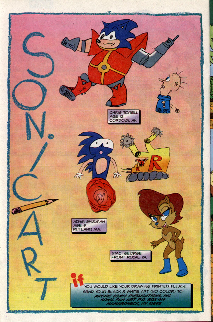Sonic - Archie Adventure Series November 1995 Page 17