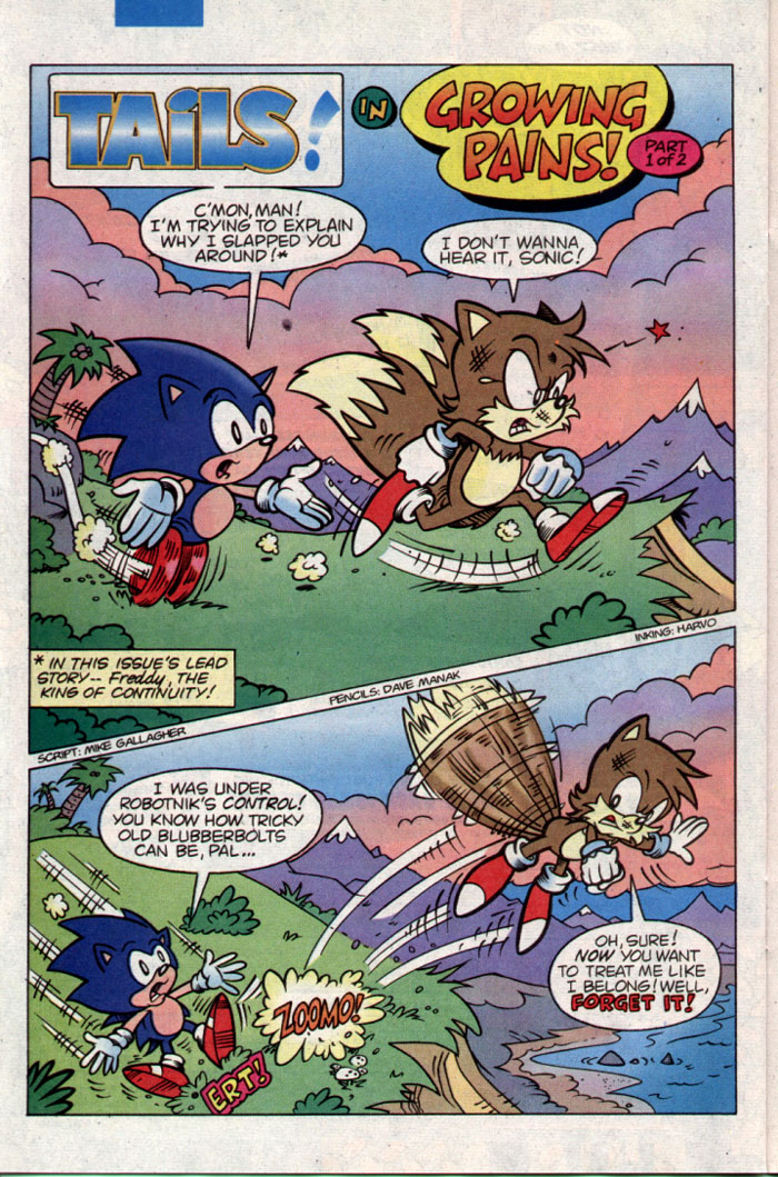 Sonic - Archie Adventure Series November 1995 Page 18