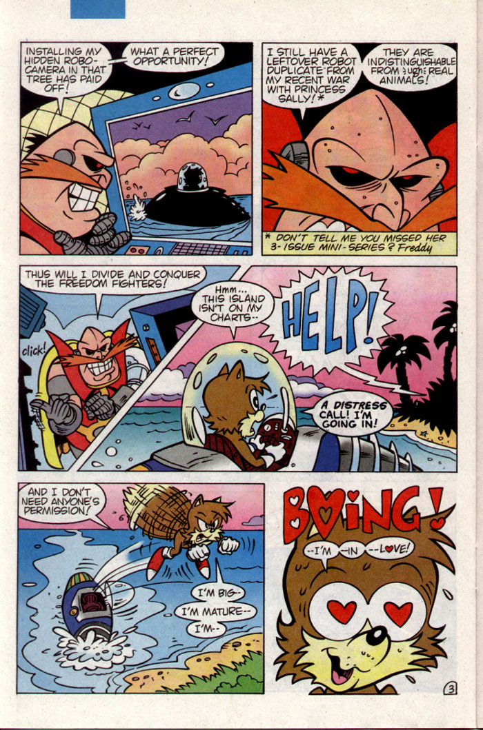 Sonic - Archie Adventure Series November 1995 Page 20