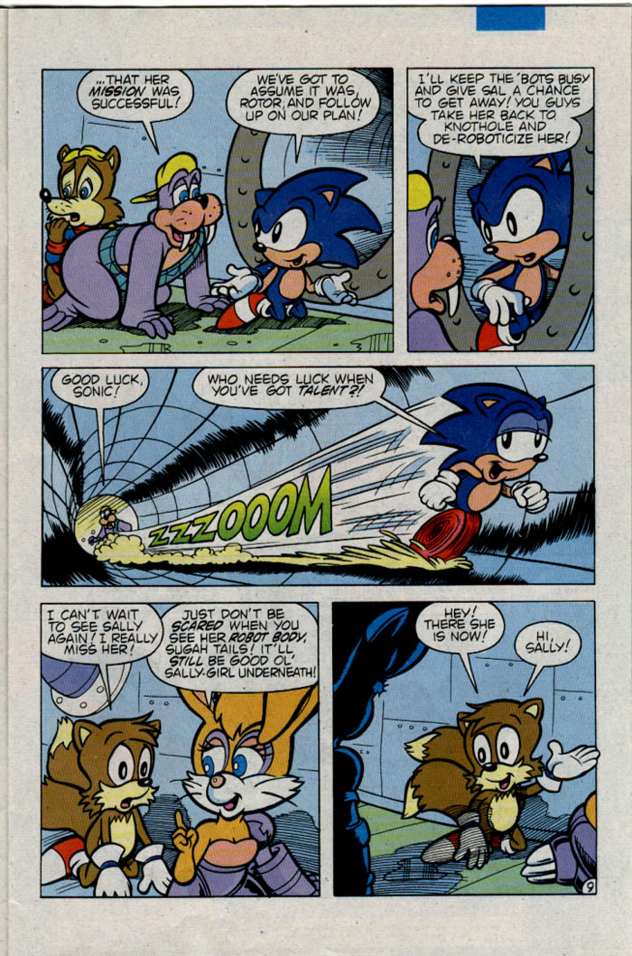 Sonic - Archie Adventure Series December 1995 Page 10