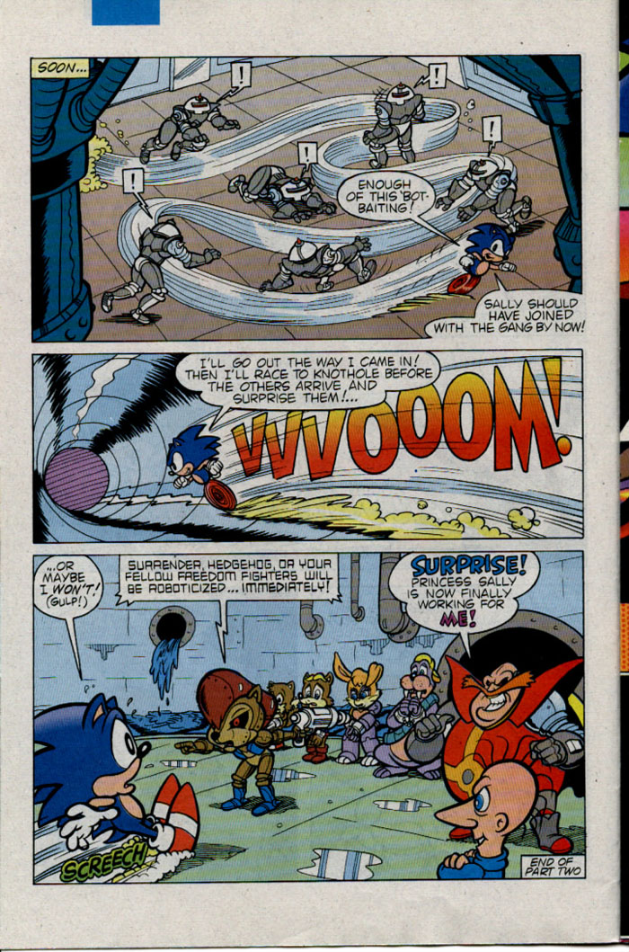 Sonic - Archie Adventure Series December 1995 Page 11