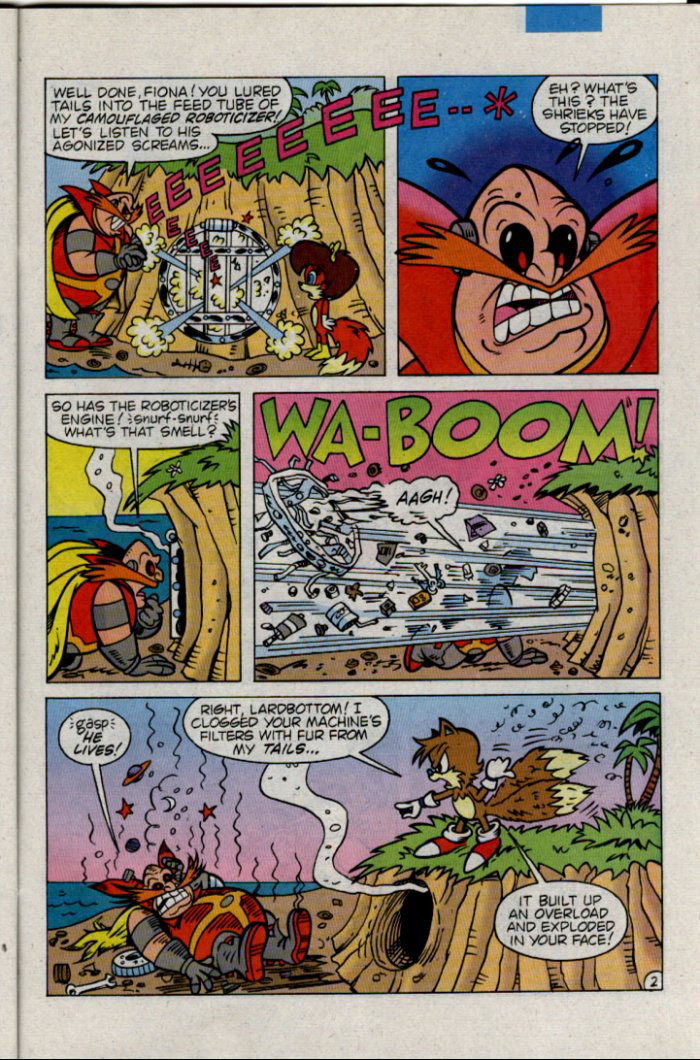 Sonic - Archie Adventure Series December 1995 Page 20
