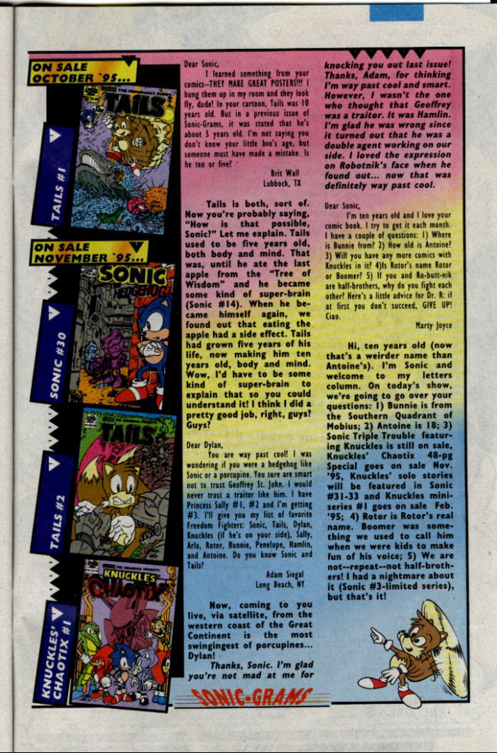 Sonic - Archie Adventure Series December 1995 Page 28