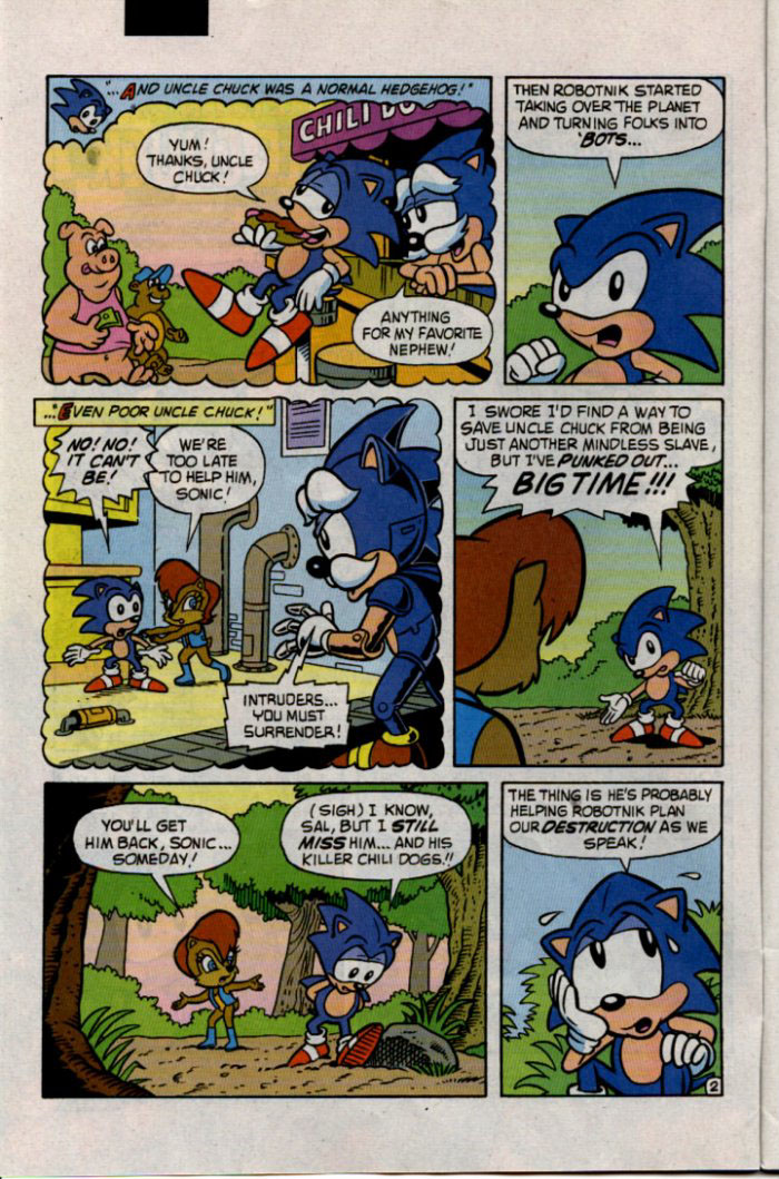 Sonic - Archie Adventure Series January 1996 Page 2